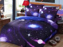 Купить постельное белье с космосом