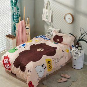 Постельное белье для детей с мишкой