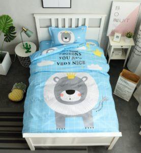 Купить комплект детского постельного