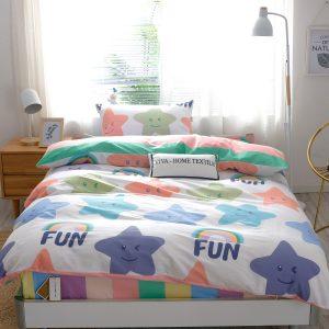 Детское спальное белье сатин